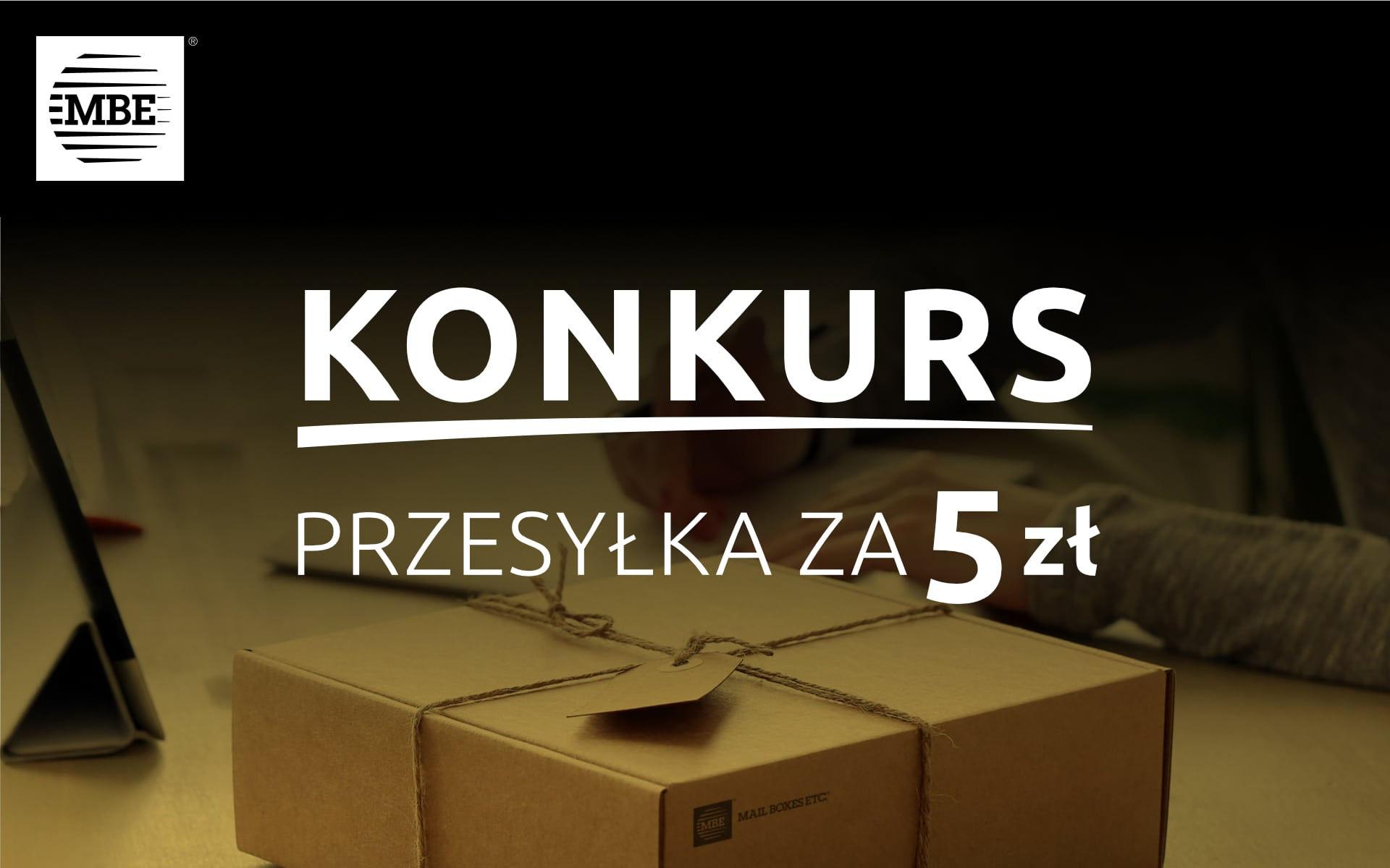 MBE-Konkurs przesyłka za 5 zł